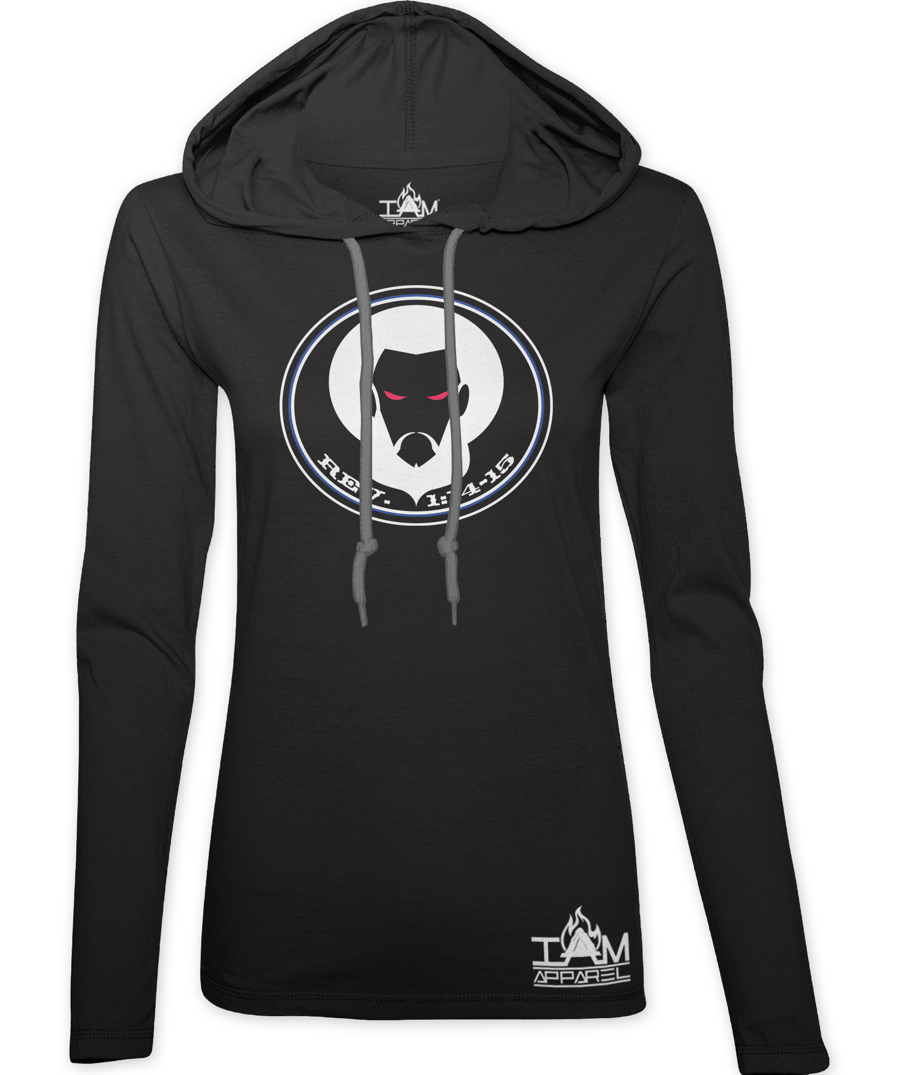 Women's Hoodie with Image of Christ 00045