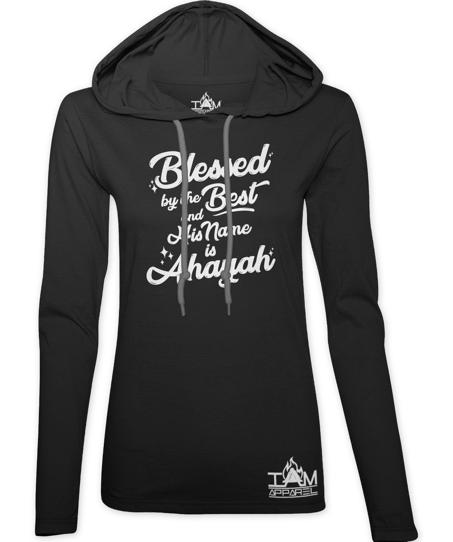 """Women's """"Blessed By The Best"""" Hoodie 00097"""