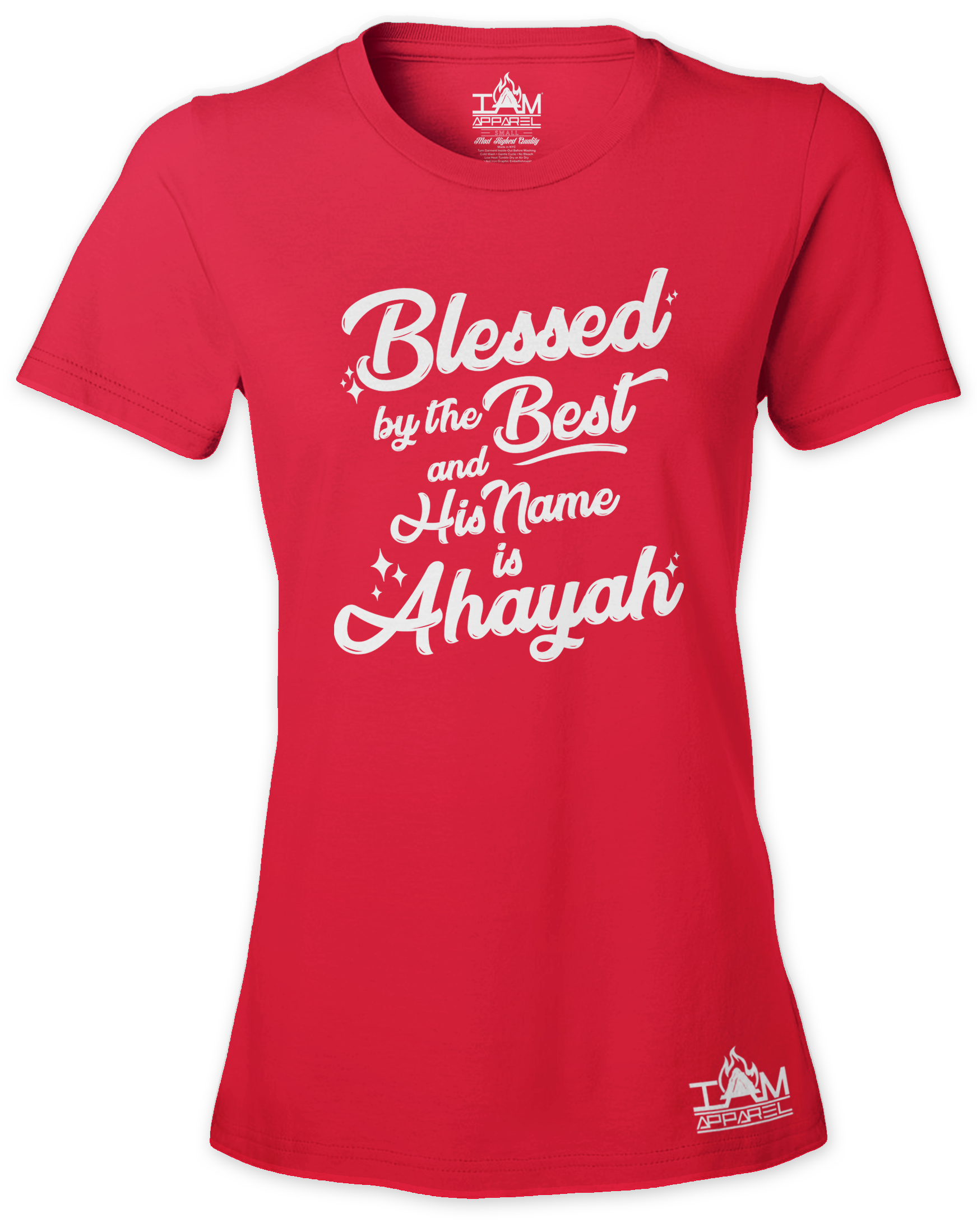 Woman's Blessed by the best  Short Sleeved T-shirt 00078