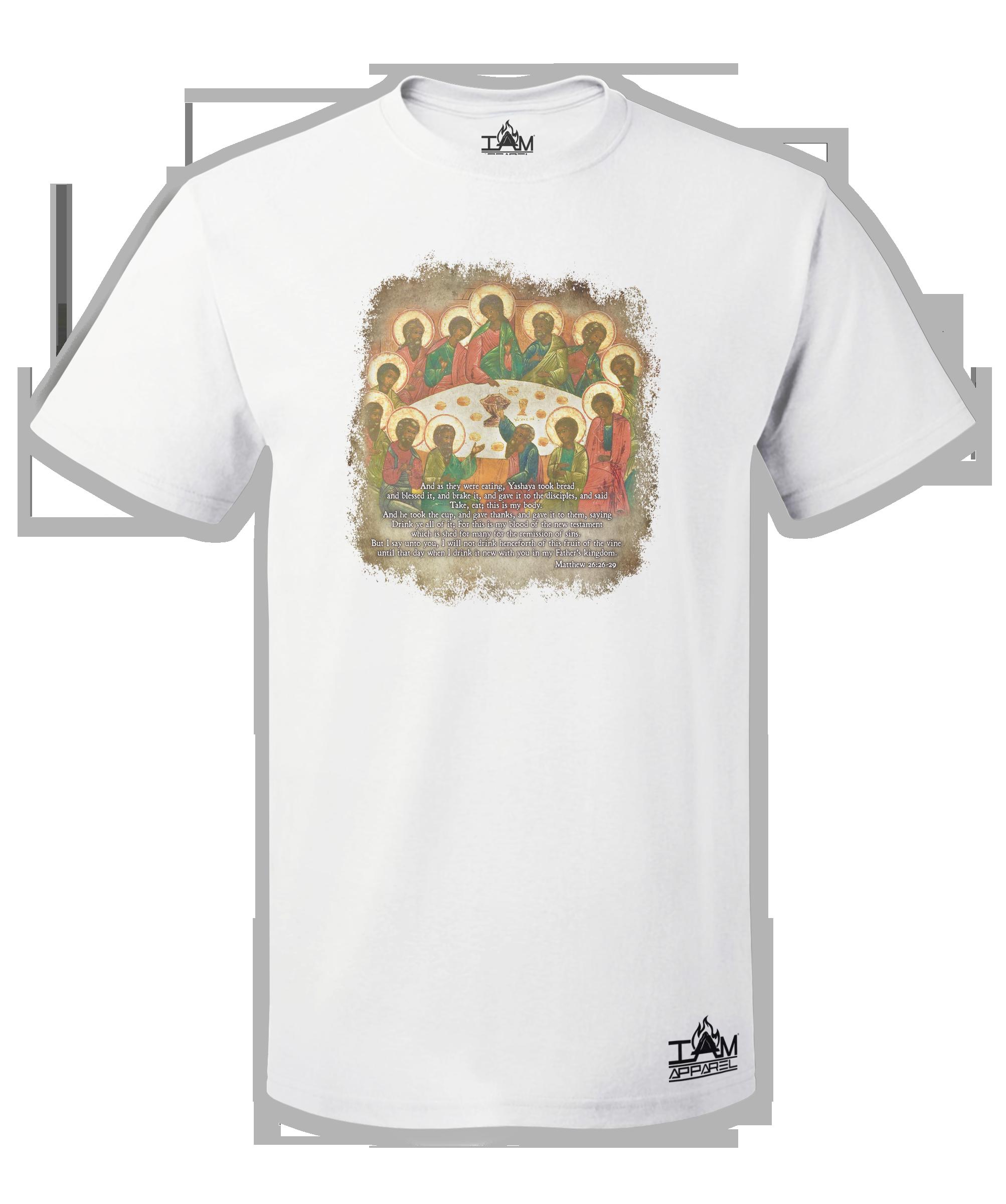 The Last Supper Men's  Short Sleeved T-shirt 00149