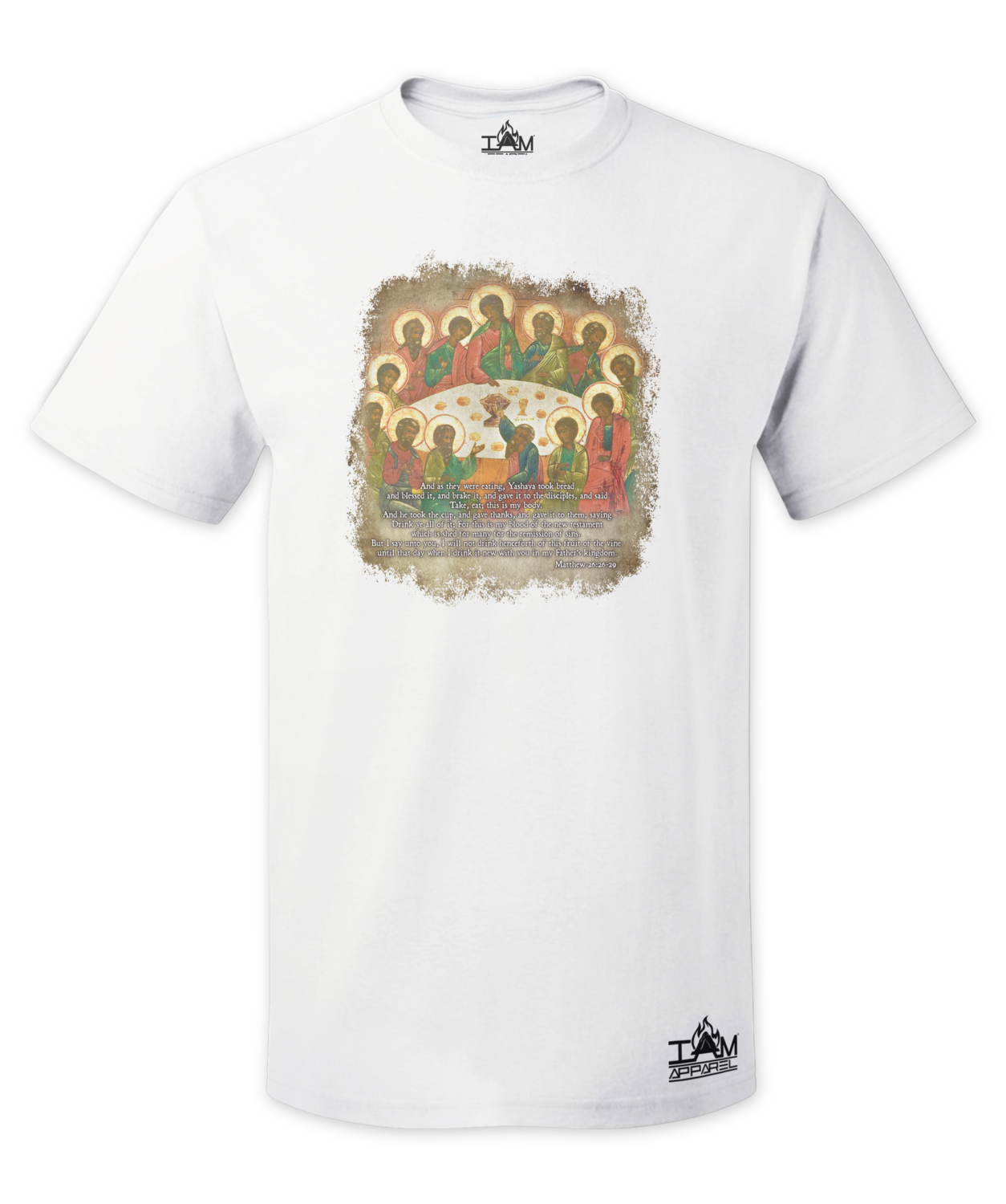 The Last Supper Men's  Short Sleeved T-shirt