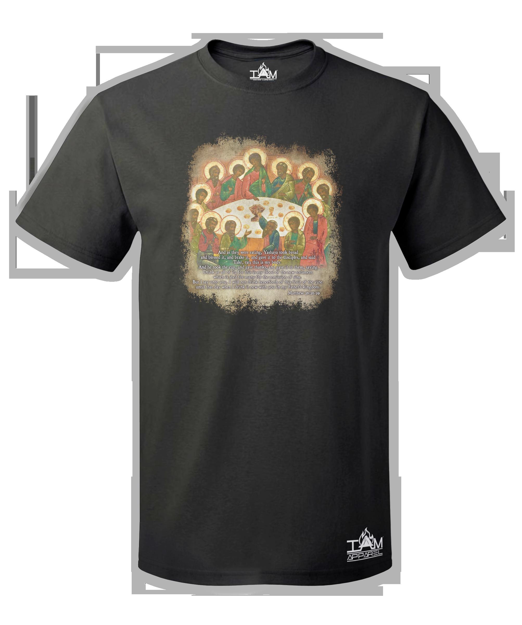 The Last Supper Men's  Short Sleeved T-shirt