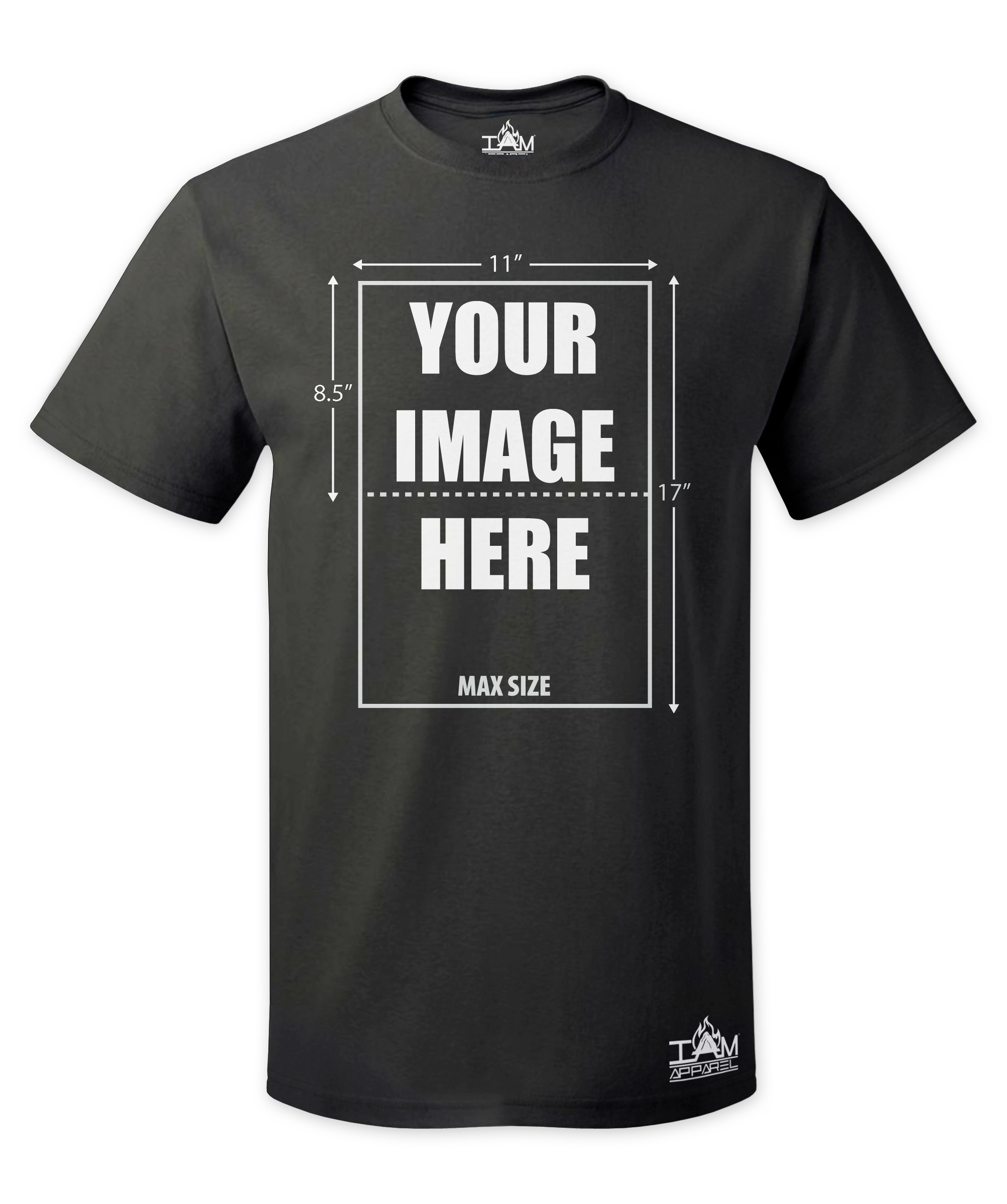 Personalized Men's Short Sleeved T-shirt
