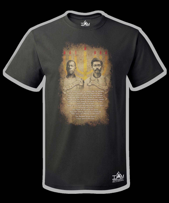 Judah and Ephraim, Two Sticks  Short Sleeved T-shirt