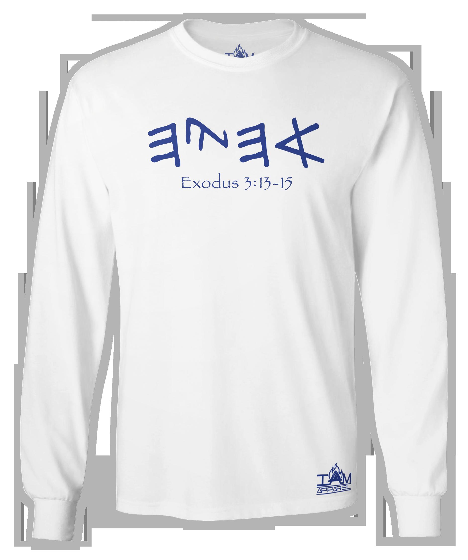 "Men's ""Ahayah"" Long Sleeved T-shirt 00040"
