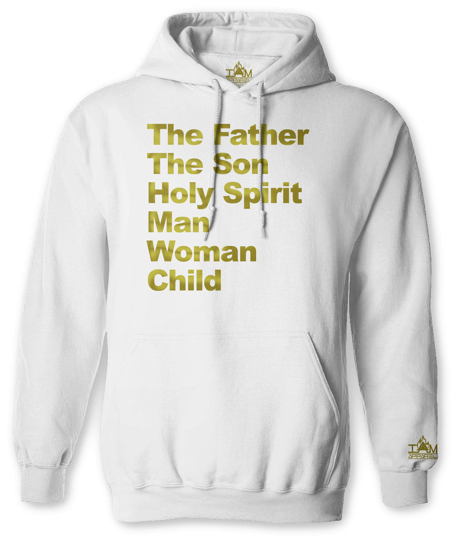 """Men's """"GOLDEN SERIES"""" """"Image of TMH Text"""" Long Sleeved Pullover 00185"""