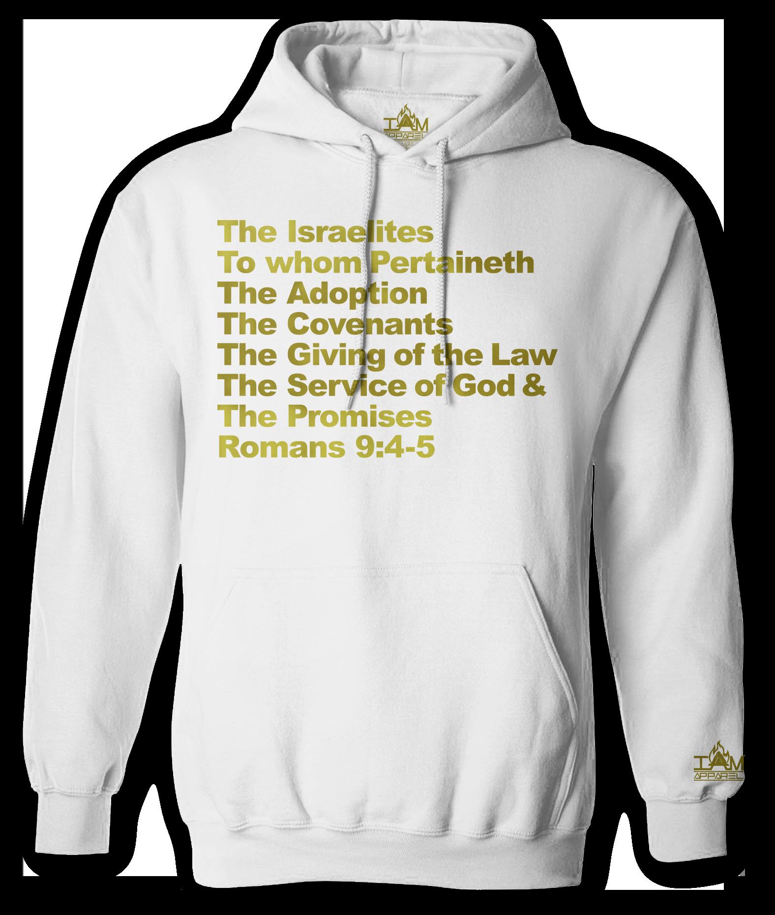 """Men's """"GOLDEN SERIES"""" """"Israelite Text"""" Long Sleeved Pullover"""