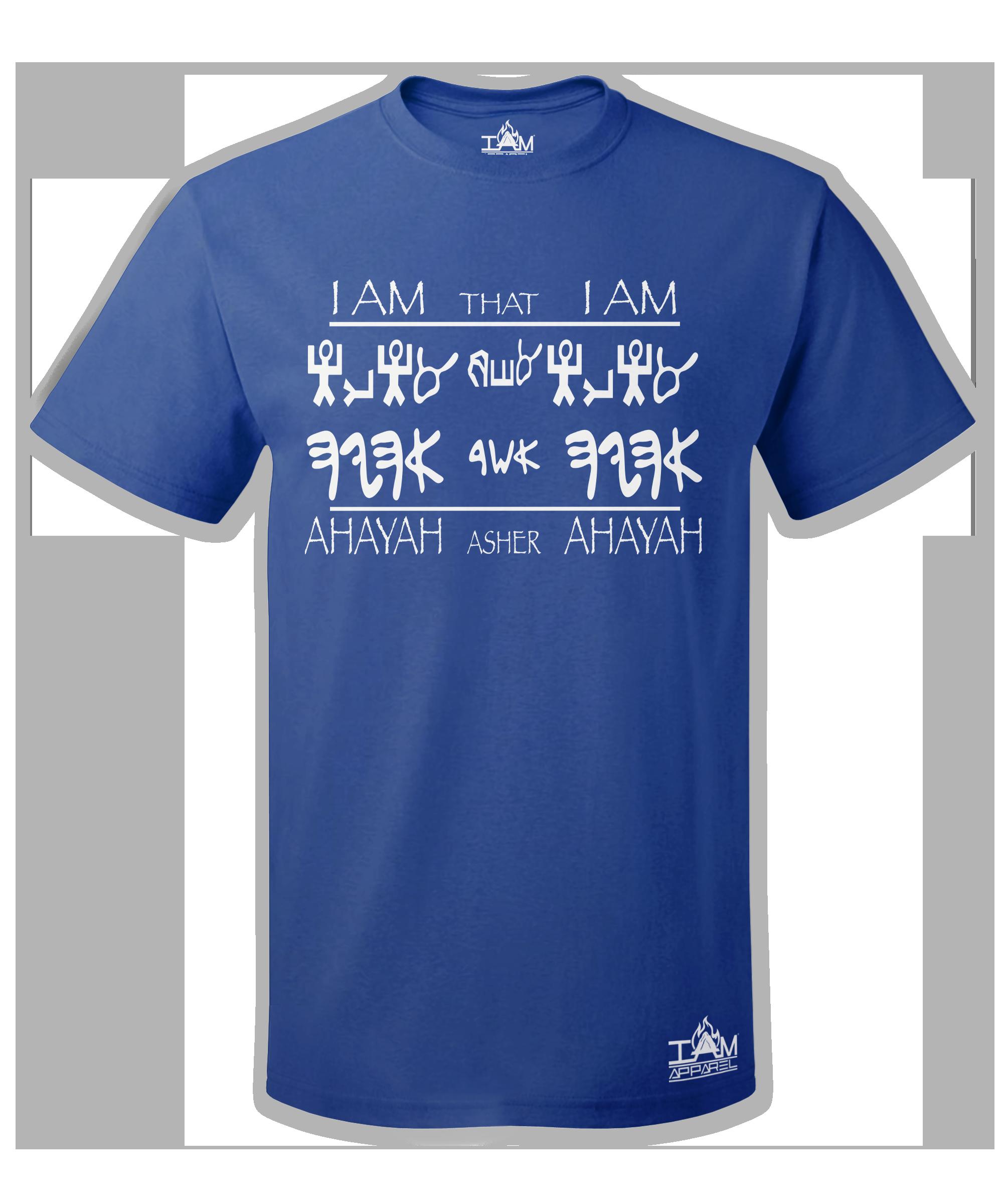 "Men's ""Ahayah Design"" Short Sleeved T-shirt"