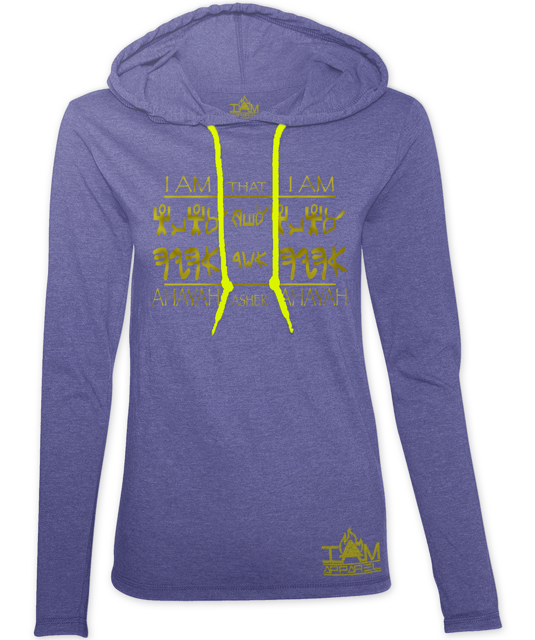 """Women's """"GOLDEN SERIES"""" Ahayah Design Hoodie"""