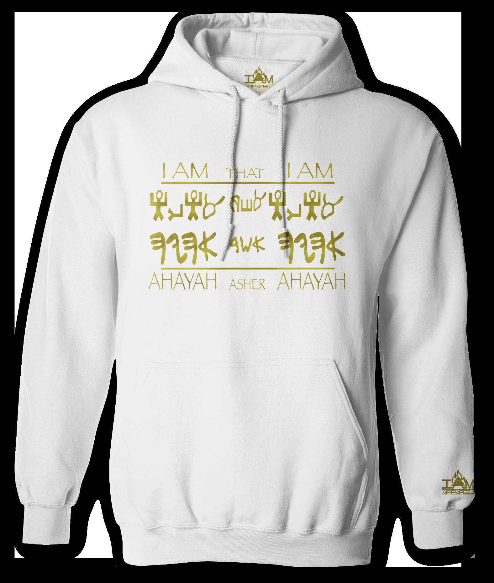 "Men's ""GOLDEN SERIES"" ""Ahayah Design"" Long Sleeved Pullover 00182"