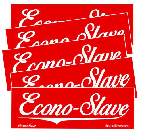 Econo-Slave Sticker Packs