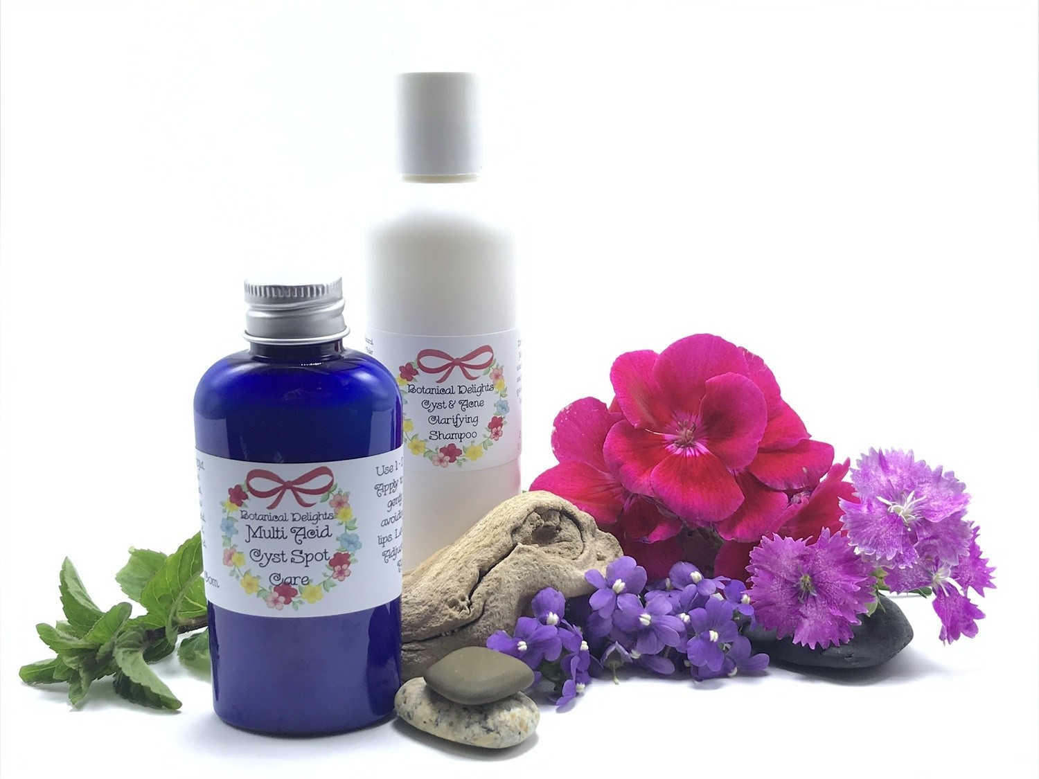 PILAR CYST Set - Shampoo & Serum for scalp cysts and acne