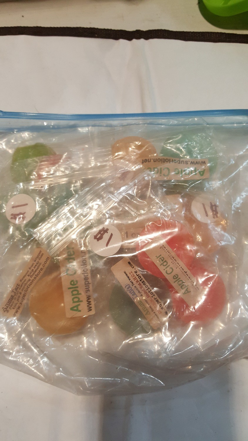 wax melts - apple pie and apple cider
