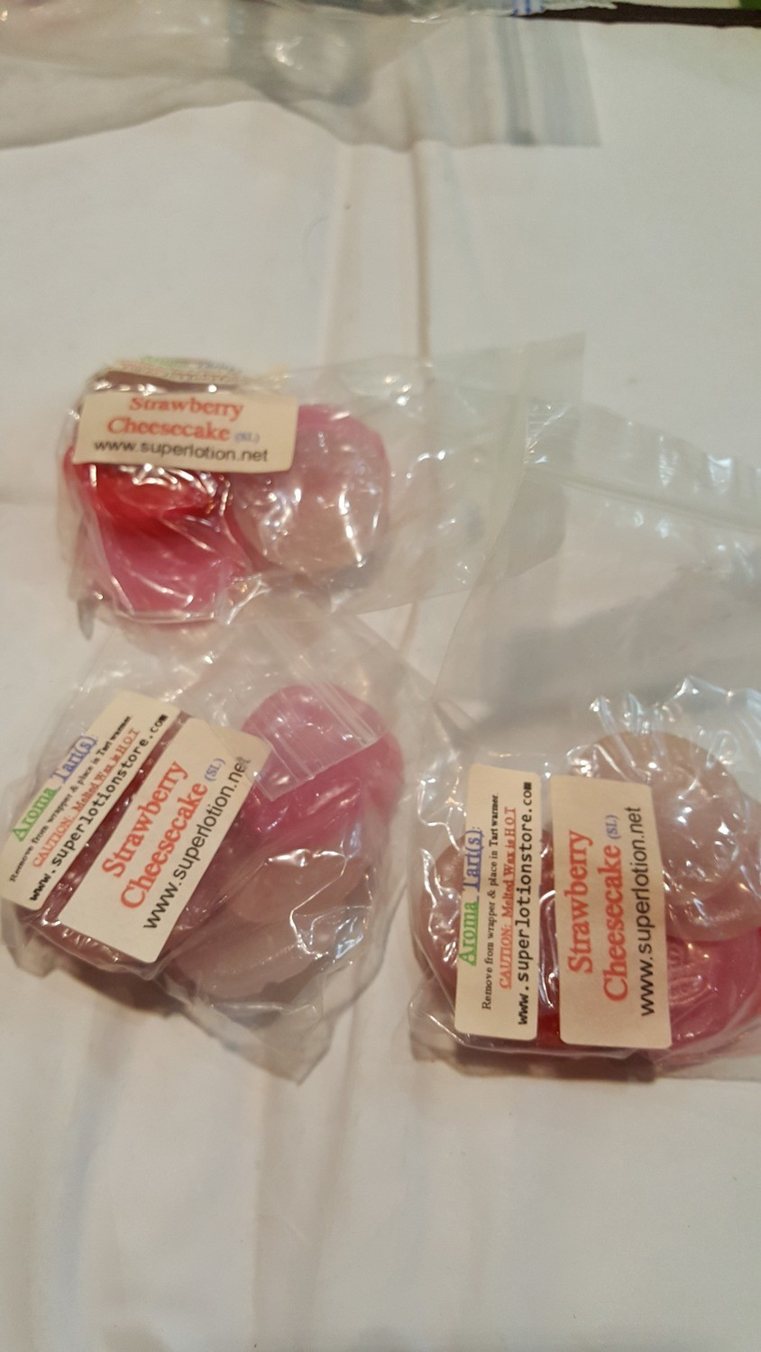 Strawberry Cheesecake wax melts