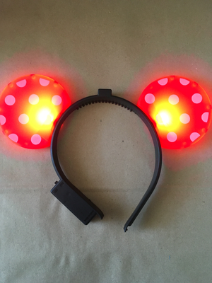 Vincha Ratón LED