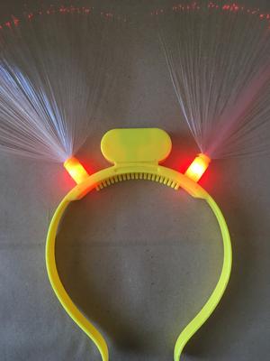 Vincha Fibra óptica LED