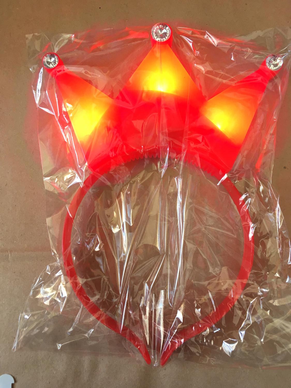Vincha Corona LED