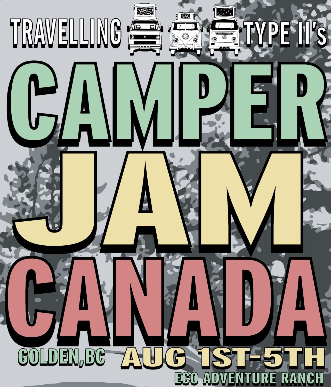 CAMPER JAM CANADA 2019     VW EUROVAN-93'+