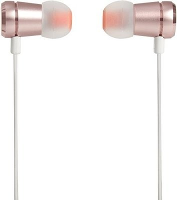 JBL T290 in-Ear Headphones with Mic, Rose Gold