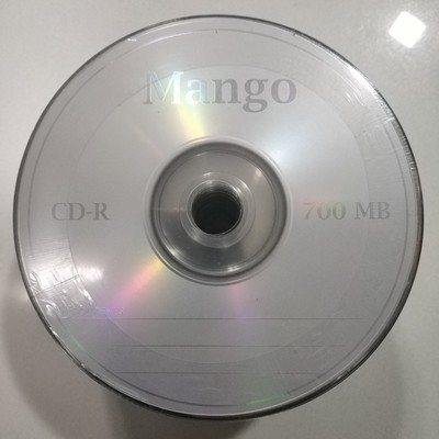 Mango CD-R, 700mb, 80min 52x, Pack of 50