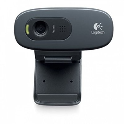 Logitech C270 HD Webcam, 720p/30fps