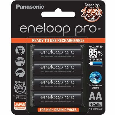 Panasonic Eneloop Pro 2550 mAh Rechargeable Battery
