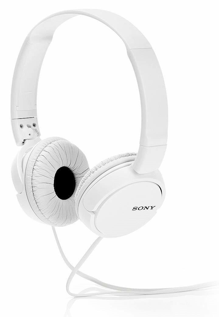 d2fd8f8c246 Sony MDR-ZX110 On-Ear Stereo Headphones, White, without mic, Rs.700