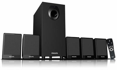 Philips DSP 2800 5.1 Speaker System , without