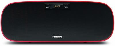 Philips MMS2140B Compact Home Audio Speakers Black, 2.1 Channel with BT, USB, FM, AUX