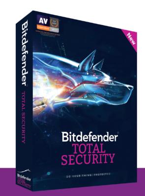 1 User, 1 Year, BitDefender Total Security, 2019