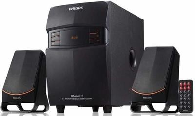 Philips MMS-2550F/94 2.1 Channel Multimedia Speakers System, Black