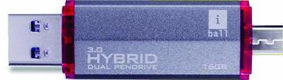 iBall 16GB OTG Pen Drive, Hybrid Dual 3.0