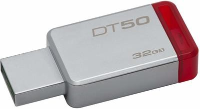 Kingston 32GB Pen Drive, 3.0, DT50, Metal