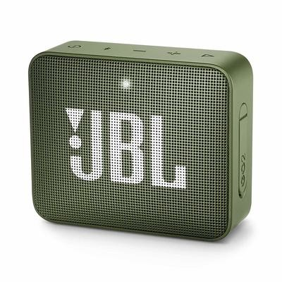 JBL GO 2 Portable Bluetooth Waterproof Speaker, Green