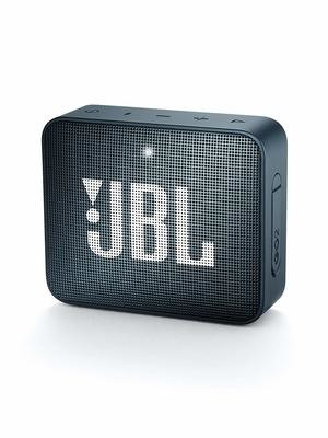 JBL GO 2 Portable Bluetooth Waterproof Speaker, Navy