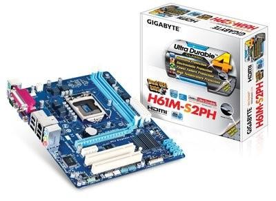 Gigabyte GA-H61M-S2PH Motherboard