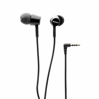 Sony MDR-EX155 in-Ear Headphones, Black