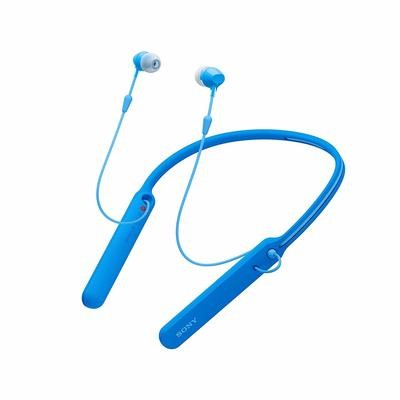Sony WI-C400 Wireless Behind-Neck in Ear Headphone, Blue