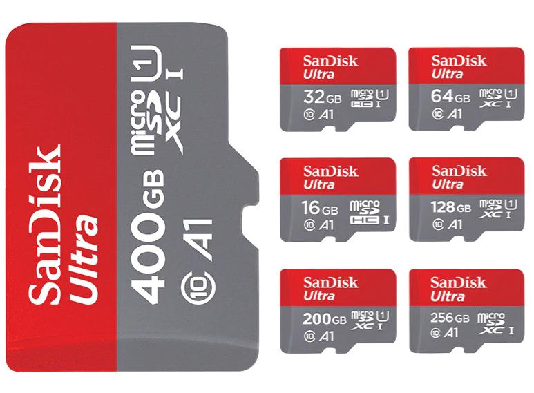 Sandisk Memory Card, A1, Class 10
