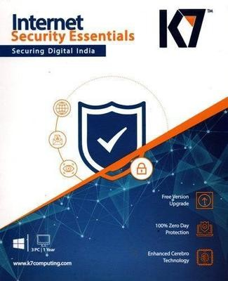 3 User, 1 Year, K7 Internet Security