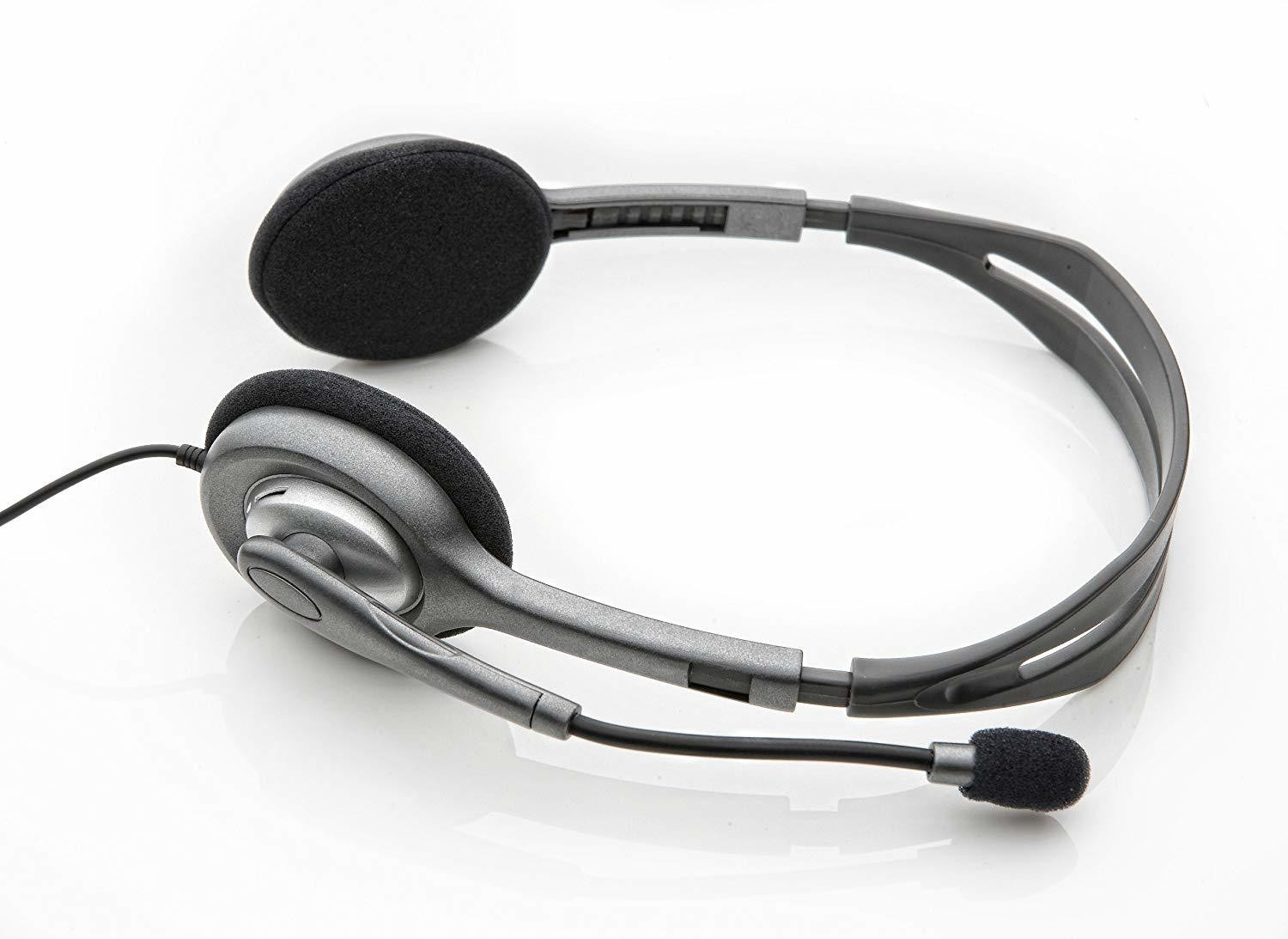 Logitech H110 Stereo Headset With Mic, Rs 400