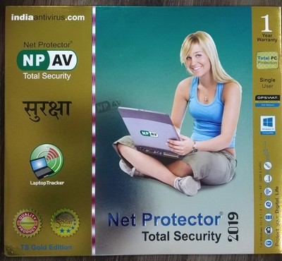 Net Protector Total Security, 2019, 1 User, 1 Year