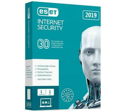 1 User, 1 Year, Eset Internet Security