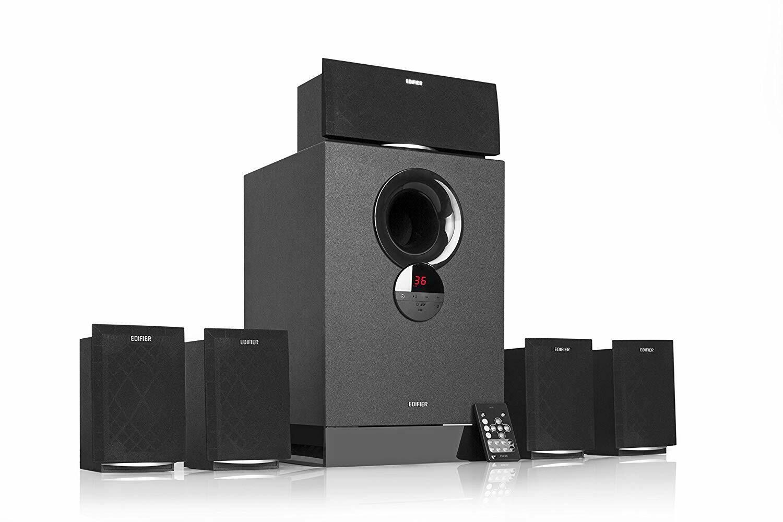 Edifier R501BT Versatile 5.1 Speaker System with Bluetooth
