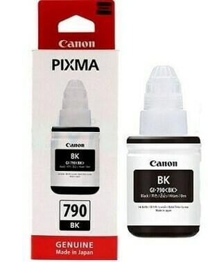 Canon ink Bottle, GI 790, Black, 135ml