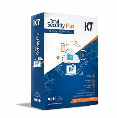 5 User, 1 Year, K7 Total Security, Plus