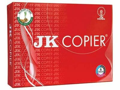 JK Copier Paper, A4, 500 Sheets, 75 GSM, 1 Ream