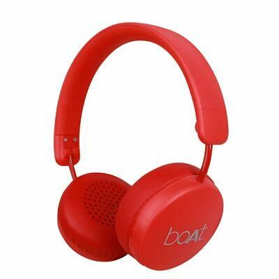 boAt Rockerz 440 Bluetooth Headset, Red