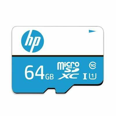 HP 64GB Memory Card, Class 10, Micro SD