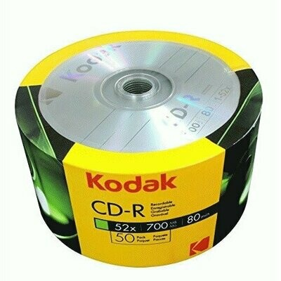 Kodak CD-R 52x 700MB 50-Value Pack